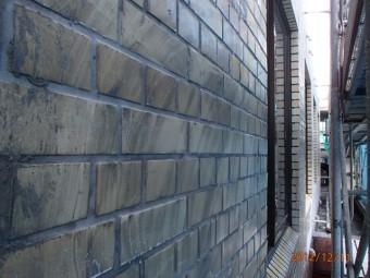 外壁タイル張り全GNSピンネット工法 施工前